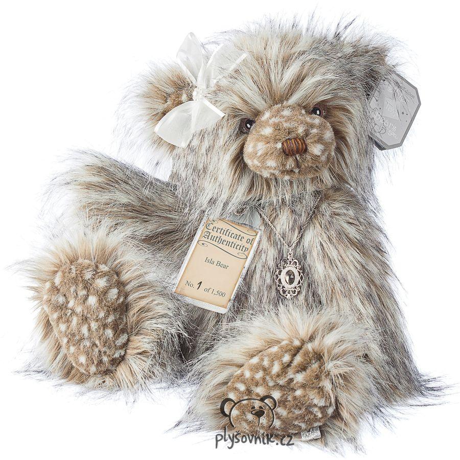 Medvídek Isla plyšový 48cm Suki Gifts