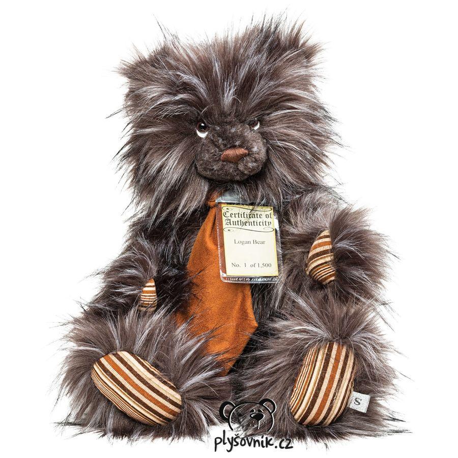 Medvídek Logan plyšový 55cm Suki Gifts