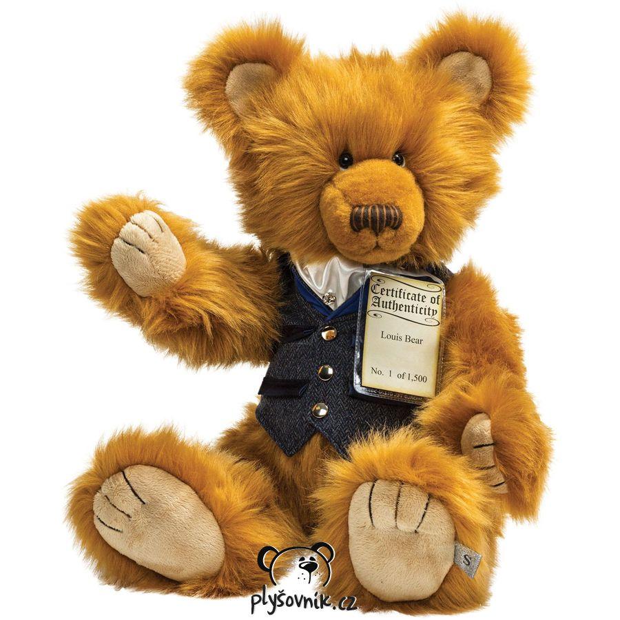Medvídek Louis plyšový 56cm Suki Gifts