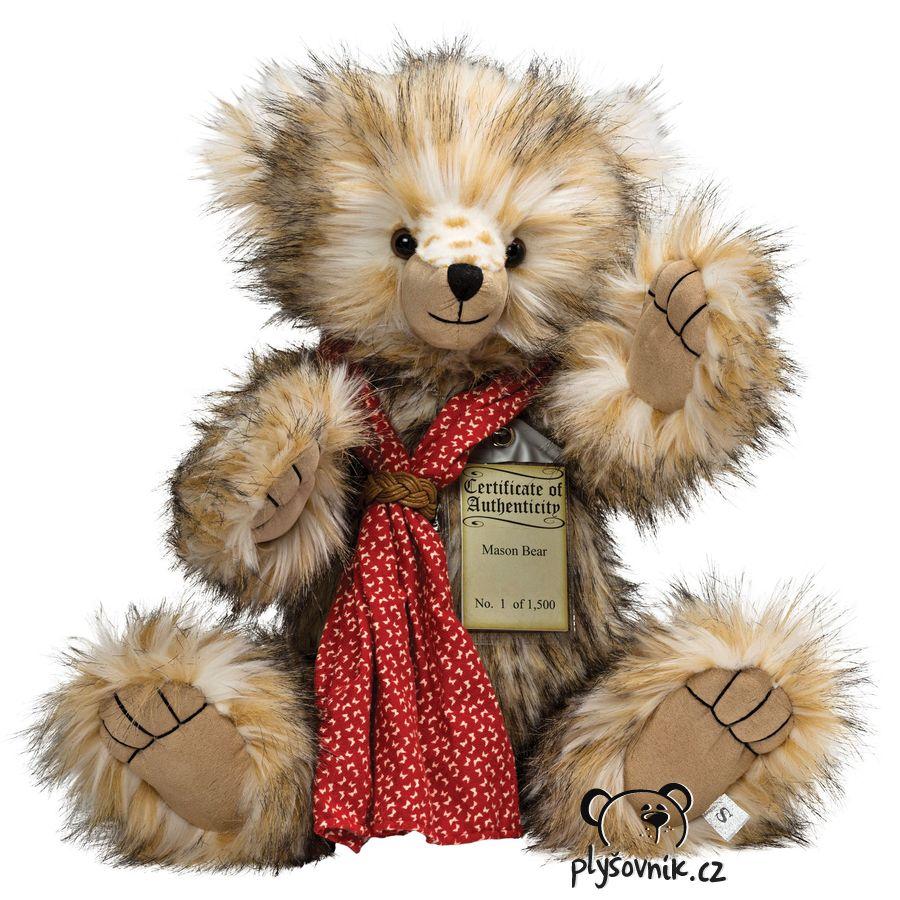 Medvídek Mason plyšový 51cm Suki Gifts