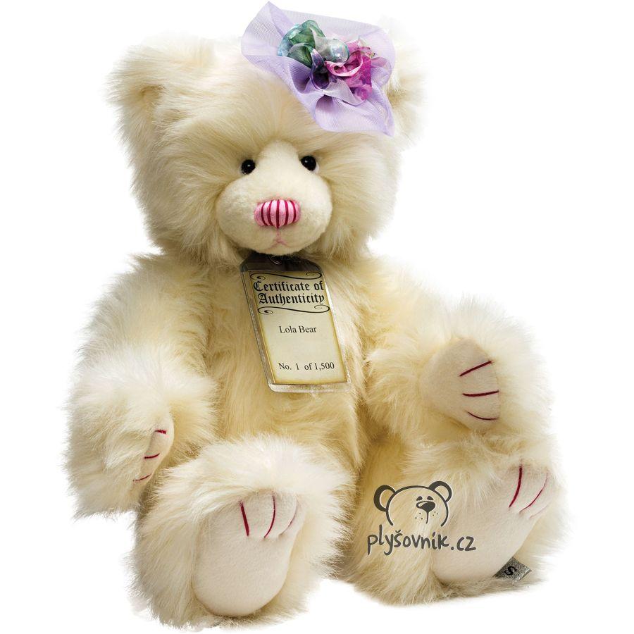 Medvídek Lola plyšový 52cm Suki Gifts