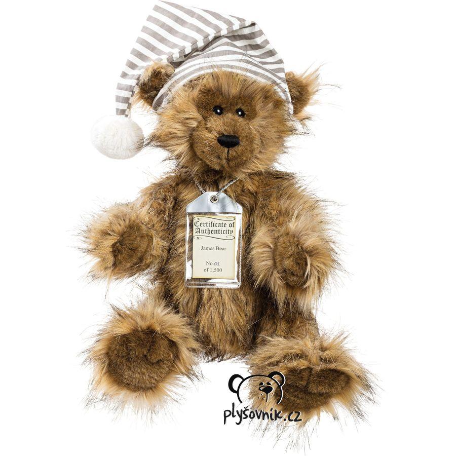 Medvídek James plyšový 46cm Suki Gifts
