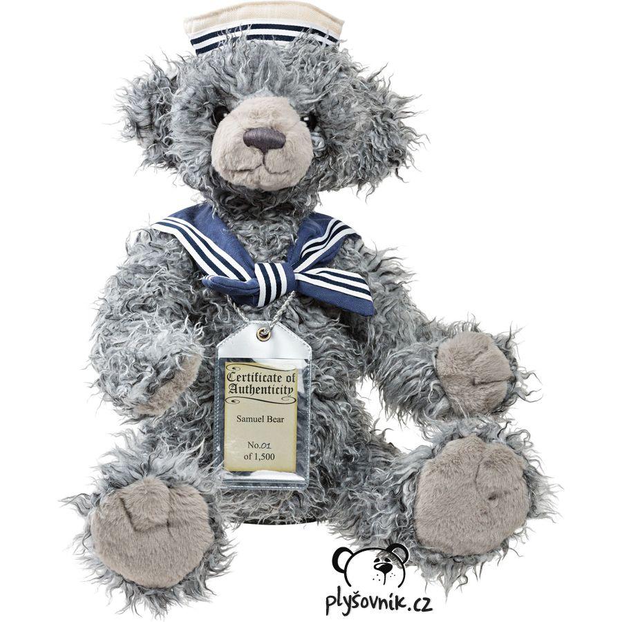 Medvídek Samuel plyšový 48cm Suki Gifts