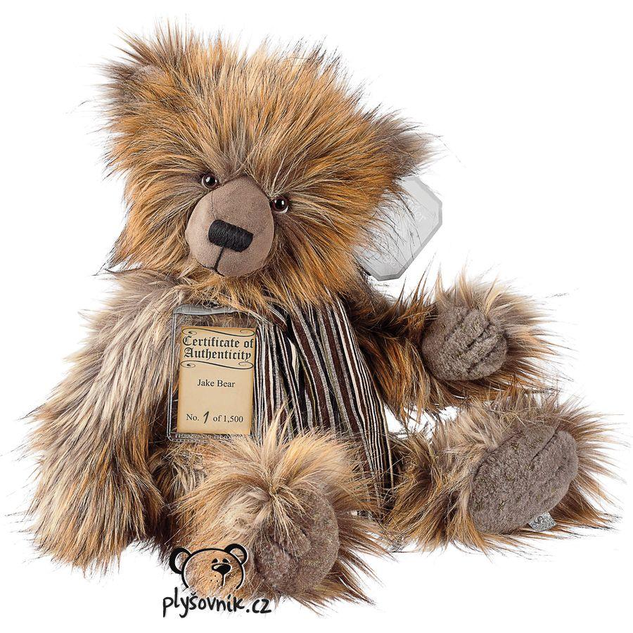 Medvídek Jake plyšový 45cm Suki Gifts