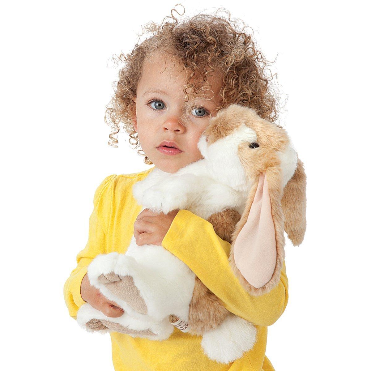Stojící králík beránek plyšový 17,5 × 20 × 30cm Folkmanis