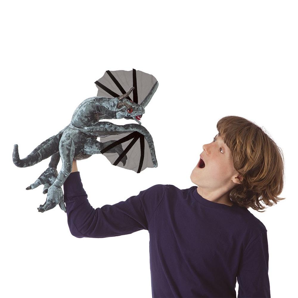Drak Jabberwock plašový 50 × 50 × 50cm Folkmanis | skladem