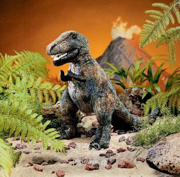 Tyranosaurus Rex střední plyšový 38cm Folkmanis