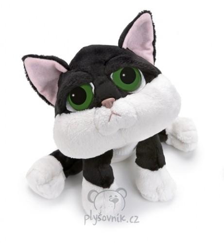 Černobílá kočka Loki plyšová 22cm Russ Berrie | skladem